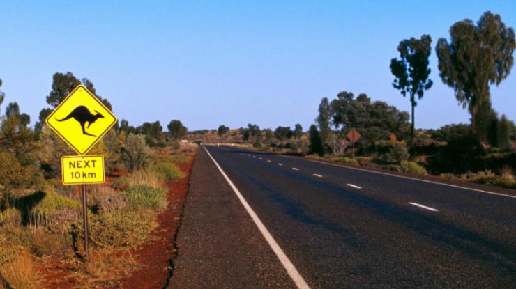 Aussie road